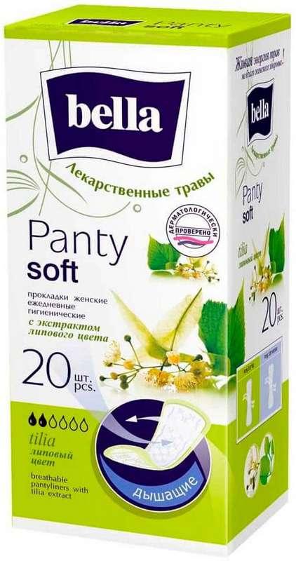 Белла панти софт прокладки ежедневные липа 20 шт., фото №1