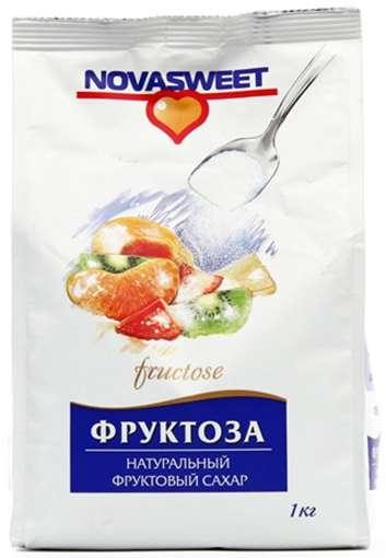 НОВАСВИТ фруктоза 1000г