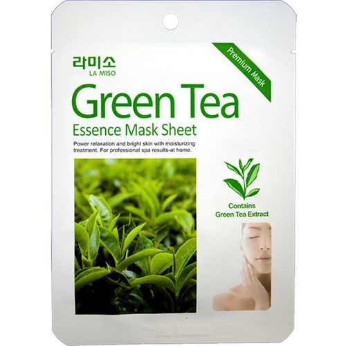Ла мисо маска для лица с экстрактом зеленого чая 21г, фото №1