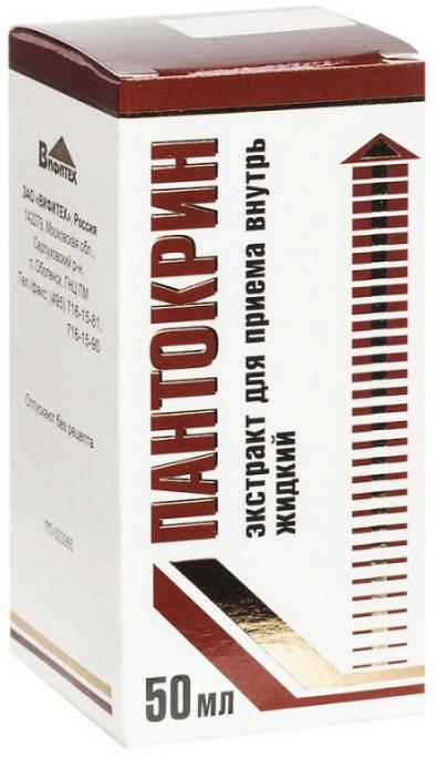 Пантокрин 50мл экстракт для приема внутрь жидкий, фото №1