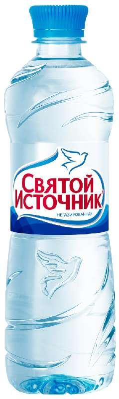 Святой источник вода питьевая без газа пэт 0,5л, фото №1