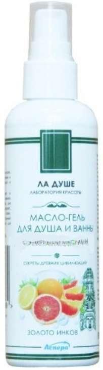 Аспера масло-гель для душа золото инков 100мл, фото №1