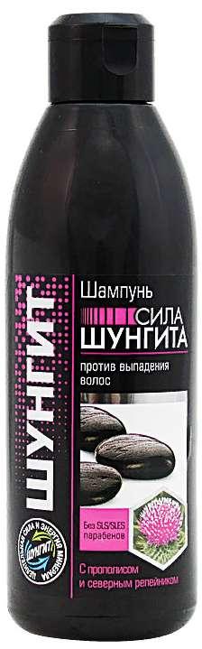Шунгит шампунь против выпадения волос прополис/северный репейник 300мл, фото №1