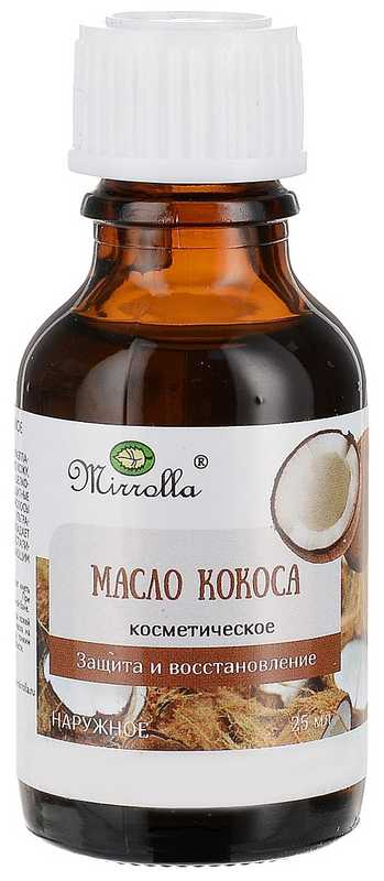 Мирролла масло косметическое кокос 25мл, фото №1