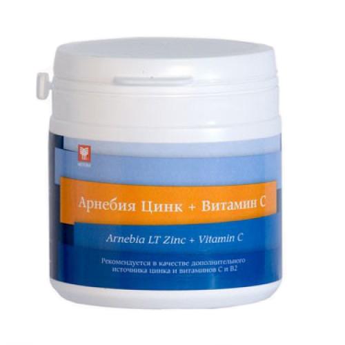 Арнебия цинк+витамин с таблетки для рассасывания 1,5г 60 шт., фото №1