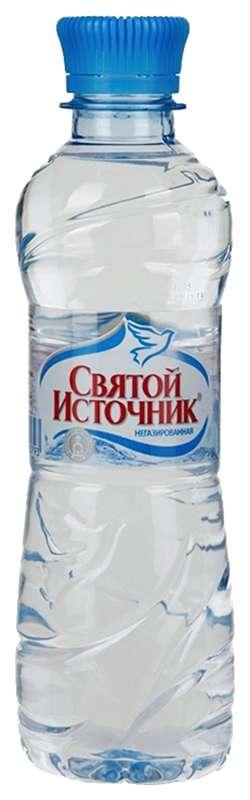 Святой источник вода питьевая без газа пэт 0,33л, фото №1