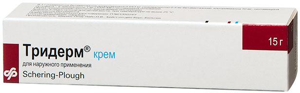 ТРИДЕРМ 15г крем для наружного применения