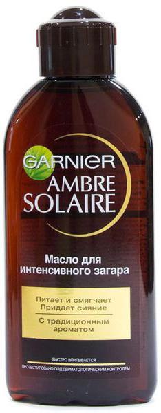ГАРНЬЕ АМБР СОЛЕР масло для загара 200мл