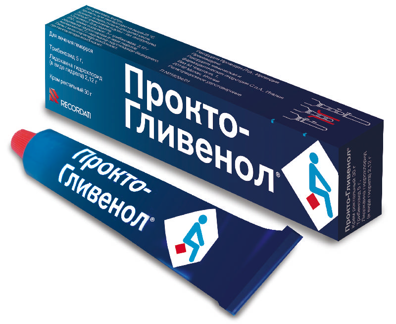ПРОКТО-ГЛИВЕНОЛ 30г крем