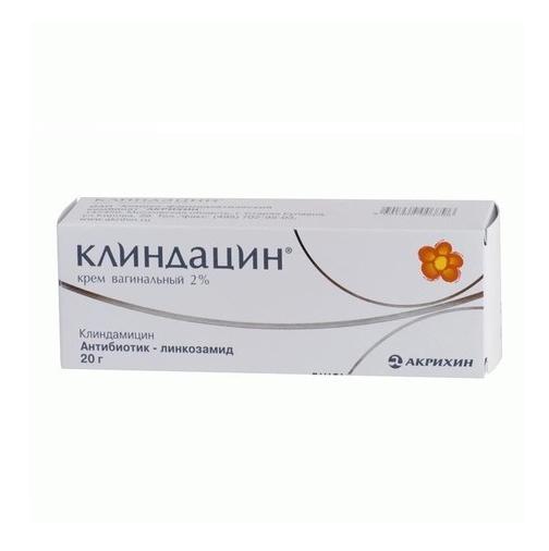 Клиндацин пролонг 2% 20г крем вагинальный, фото №1
