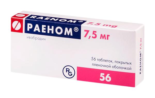 РАЕНОМ таблетки 7.5 мг 56 шт.