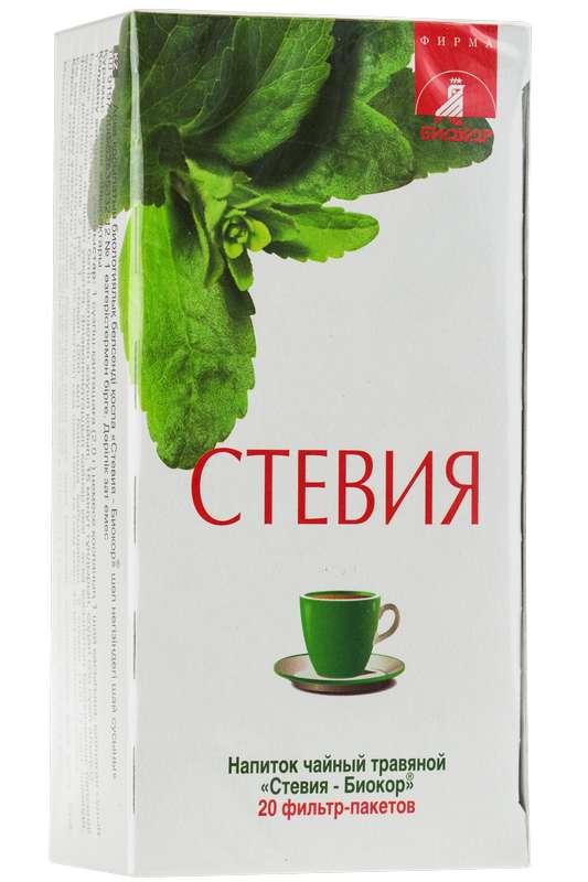 Стевия напиток чайный 20 шт. фильтр-пакет, фото №1