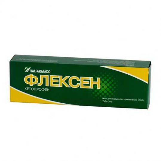 Флексен 2,5% 30г гель для наружного применения, фото №1