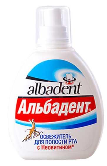 Альбадент освежитель для полости рта противовоспалительный с неовитином 10мл, фото №1