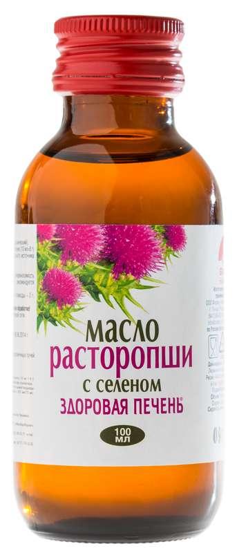 СЕКРЕТЫ СТОЛЕТИЙ масло Расторопши 100мл.