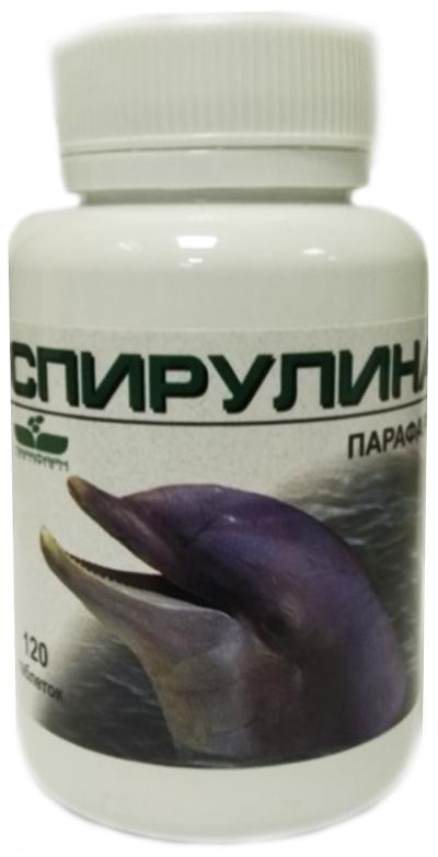 Спирулина парафарм таблетки 120 шт. витамер, фото №1