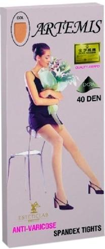 Артемис колготки антиварикозные 40den темно-бежевый, фото №1