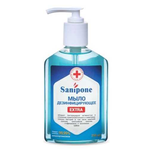 Санипон-extra мыло жидкое дезинфицирующее (кожный антисептик) 250мл, фото №1