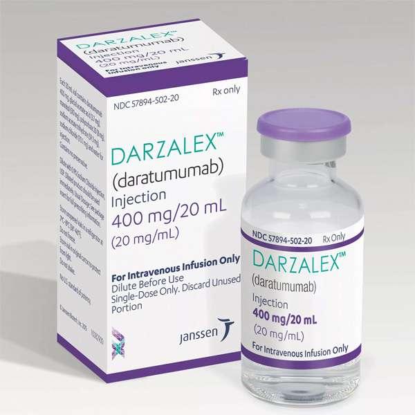 ДАРЗАЛЕКС 20мг/мл 20мл 1 шт. концентрат для приготовления раствора для инфузий