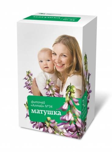 ФИТОЧАЙ АЛТАЙ 34 шт. матушка 30 шт. фильтр-пакет