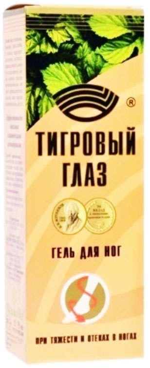 Тигровый глаз гель для ног 75мл медикомед нпф,ооо, фото №1