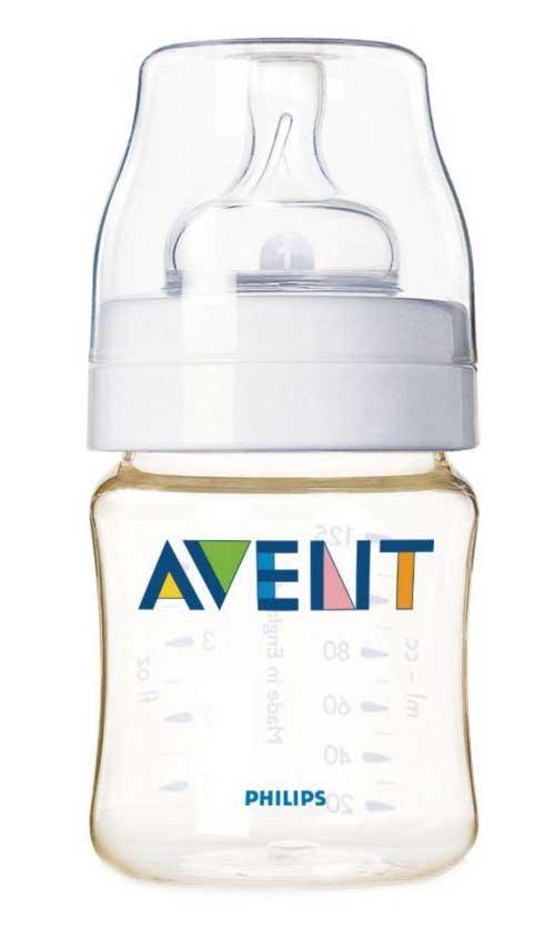 Авент классик бутылочка для кормления с соской для новорожденных 86020 (scf660/17) 125мл, фото №1