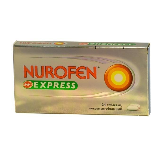 НУРОФЕН ЭКСПРЕСС НЕО таблетки 200 мг 24 шт.