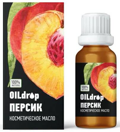 Оилдроп масло косметическое персик 30мл, фото №1