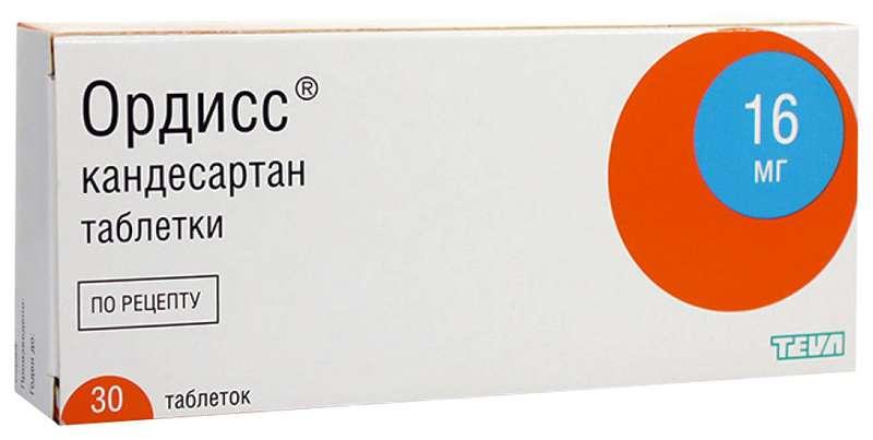ОРДИСС таблетки 16 мг 30 шт.