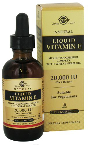 Солгар витамин е жидкость 60мл флакон -капельница, фото №1