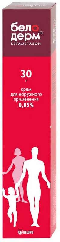 Белодерм 0,05% 30г крем для наружного применения, фото №1