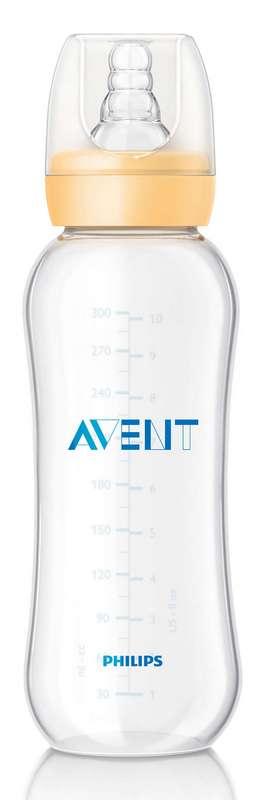 Авент стандарт бутылочка для кормления с соской медленный поток 80920 (scf972/17) 300мл, фото №1