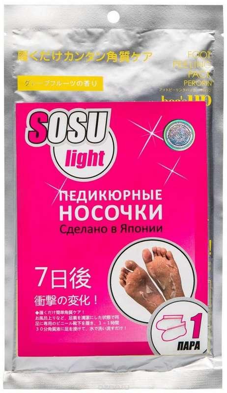 Sosu маска-носочки для педикюра лайт пара, фото №1
