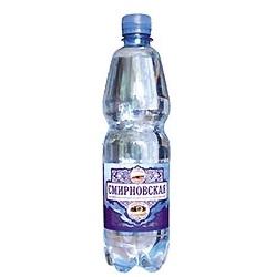 Вода минеральная смирновская 1,5л газ пэт