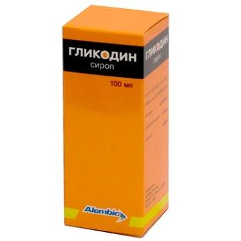 Гликодин 100мл сироп, фото №1