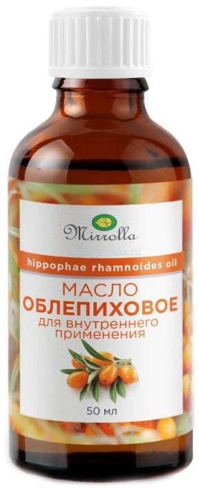 МИРРОЛЛА масло Облепиховое пищевое 50мл