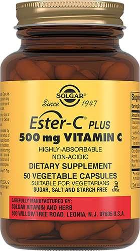 Солгар эстер-с плюс витамин с капсулы 500мг 50 шт., фото №1