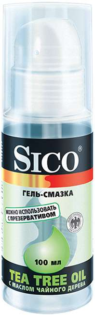 Сико гель-смазка tea tree oil/масло чайного дерева 100мл, фото №1