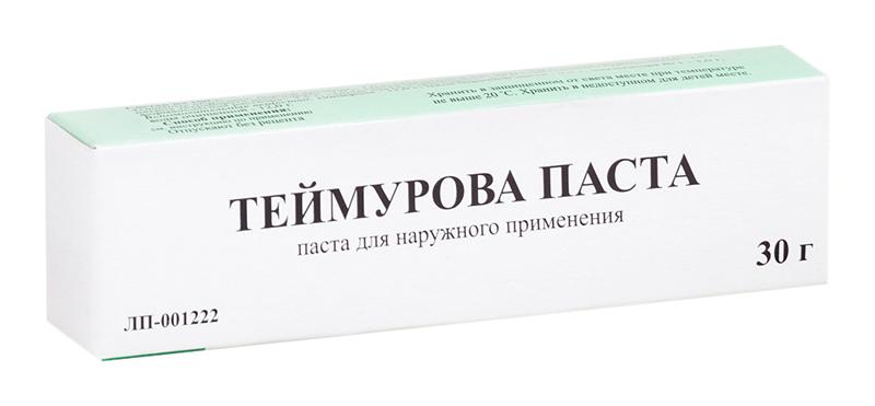 ТЕЙМУРОВА 30г паста туба