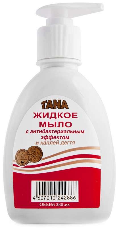 Тана мыло дегтярное 280мл, фото №1