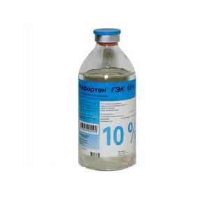 Рефортан гэк 10% 500мл n10 р-р д/инфузий