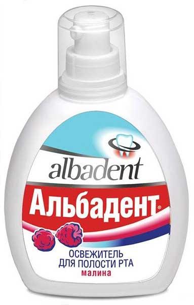 Альбадент освежитель для полости рта малина 35мл, фото №1