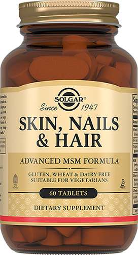 Солгар таблетки кожа, волосы, ногти 60 шт., фото №1