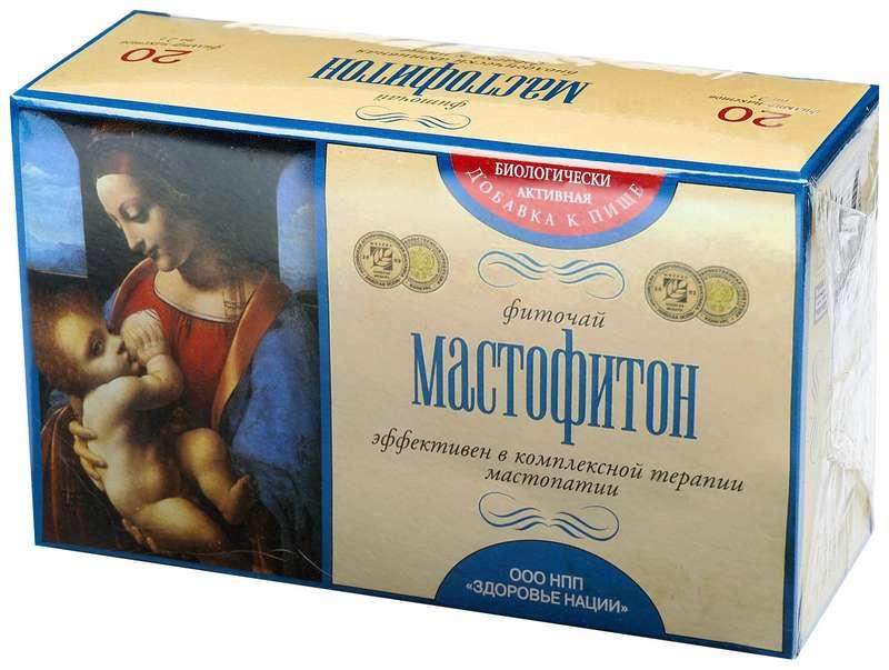 МАСТОФИТОН чай 2г 20 шт. фильтр-пакет