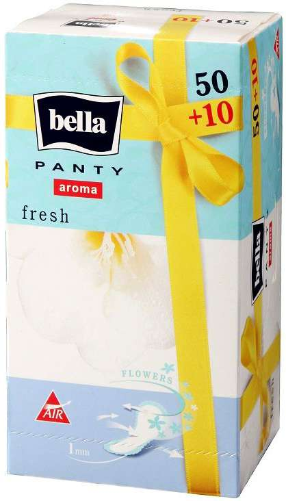 Белла панти арома прокладки ежедневные фреш 60 шт., фото №1