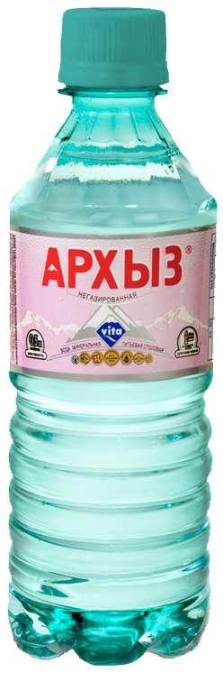 Вода мин. архыз 0,5л без газа пэт, фото №1