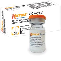 КЕППРА раствор для инфузий 5 мл 10 шт.