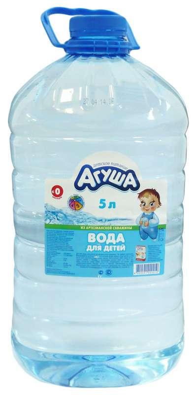 Агуша вода для детей 5л, фото №1