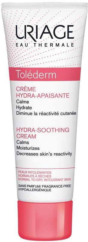 Урьяж толедерм крем для лица увлажняющий успокаивающий для нормальной/чувствительной кожи 50мл, фото №1