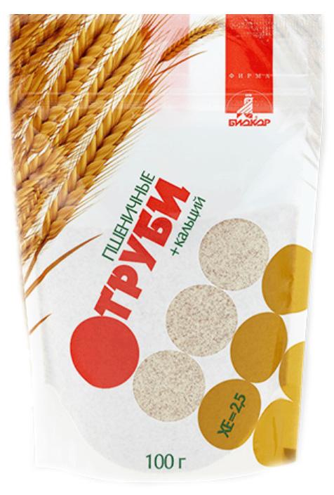 Лито отруби пшеничные молотые с кальцием 100г, фото №1